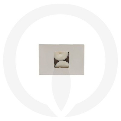 25mm Tealight Box - 6 Pack (White) top view