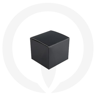 Velino Large Candle Box No Window (Black)