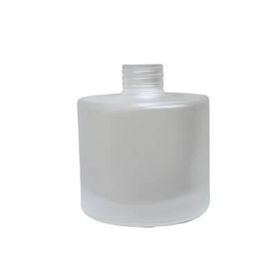 Diffuser Glassware - Round Screw Top - Frosted