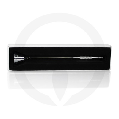 Chrome Candle Snuffer in box