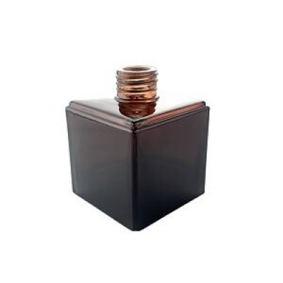 Diffuser Glassware - Cubic Screw Top - Amber