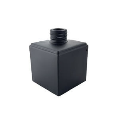 Diffuser Glassware - Cubic Screw Top - Matt black