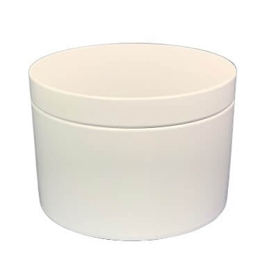 XL White Tin
