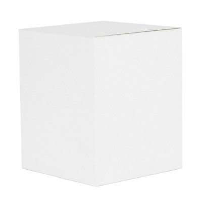 XL Candle Box No Window (White