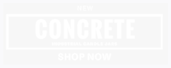 concrete candle jars