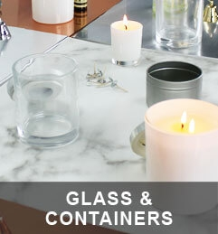 Candle Glass and Containers