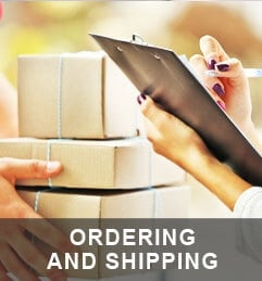 Ordering and Shipping