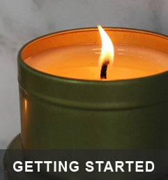 Getting Started - What you need to start making Candles