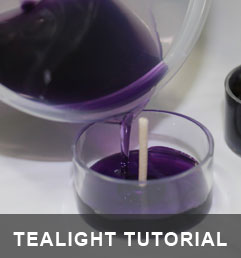 How to Make Tealight Candles