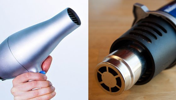 Hairdryer and heatgun